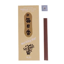 VAINILLA 200 STICKS MORNING STAR TRADITIONAL JAPANESE STYLE
