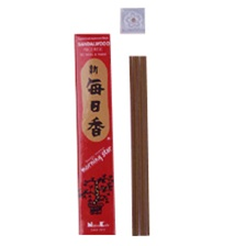 SANDALWOOD 50 STICKS MORNING STAR TRADITIONAL JAPANESE STYLE