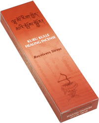 ANTIESTRES KURUKULLE TIBETAN INCENSE 20 STICKS & INCENSARIO RELIEVES STRESS
