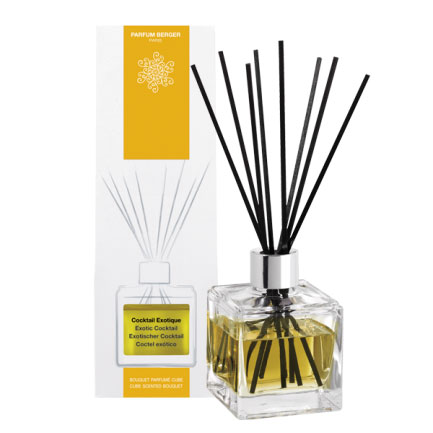 COCKTAIL EXOTIQUE 125 ML MIKADO - BOUQUET PARFUME CUBE -CUBE SCENTED BOUQUET