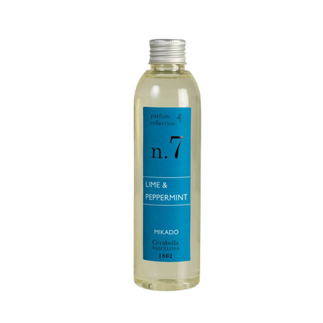 LIME & PEPPERMINT Nº7 200ml REED DIFFUSER REFILL