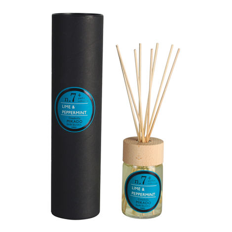 LIME & PEPPERMINT 100ml REED DIFFUSER - MIKADO